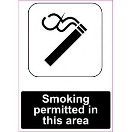 Lipdukas Smoking permitted in this area