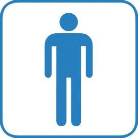 Lipdukas Vyrų tualetas