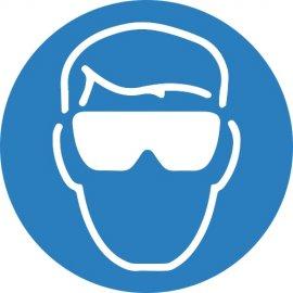 Lipdukas Būtina naudoti apsauginius akinius