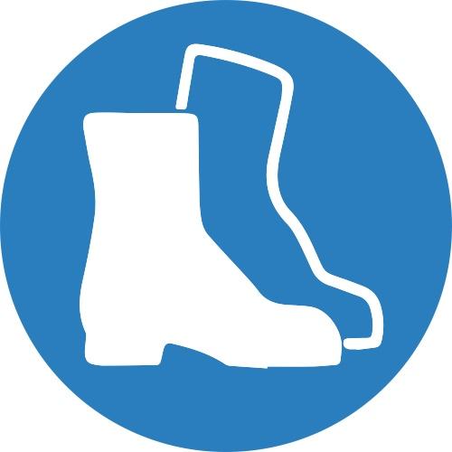 Lipdukas Būtina avėti apsauginius batus