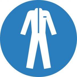 Lipdukas Būtina vilkėti apsauginius drabužius