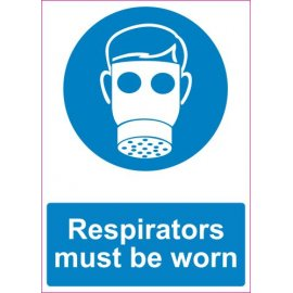 Lipdukas Respirators must be worn