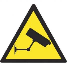Lipdukas Atsargiai! Vaizdo kameros