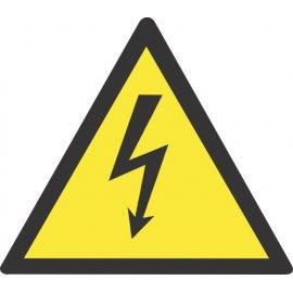 Lipdukas Atsargiai! Elektros smūgio pavojus