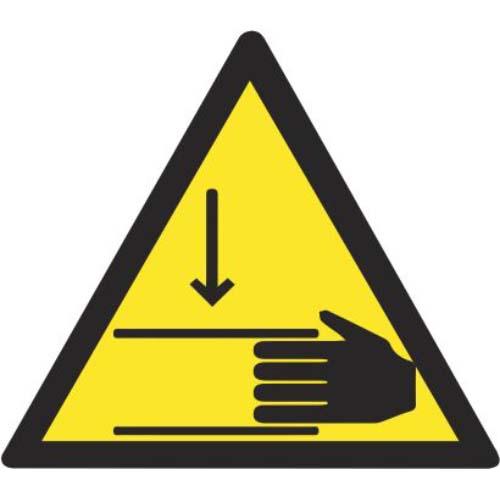 Lipdukas Atsargiai! Pavojus prispausti