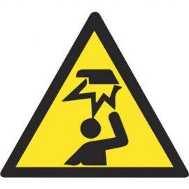 Lipdukas Atsargiai! Galvos traumos pavojus