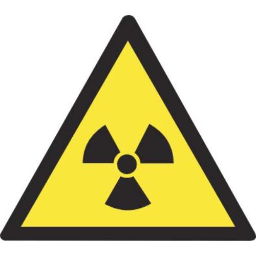 Lipdukas Atsargiai! Radioaktyvios medžiagos