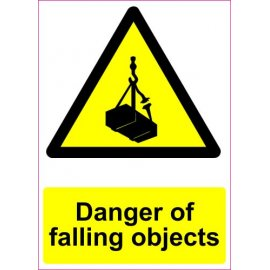 Lipdukas Danger of falling objects