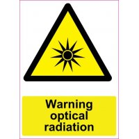 Lipdukas  Warning optical radiation