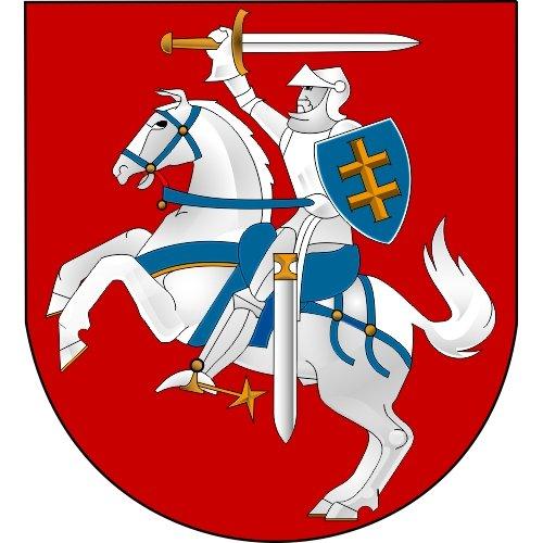 Lipdukas Lietuvos herbas