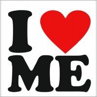 Lipdukas I love me (Aš myliu save)