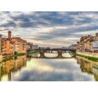 Plakatas Italijos upė