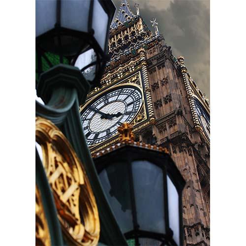 Plakatas Big Ben Londonas
