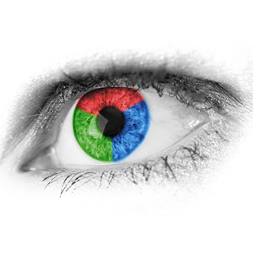 Plakatas Abstrakcinė akis