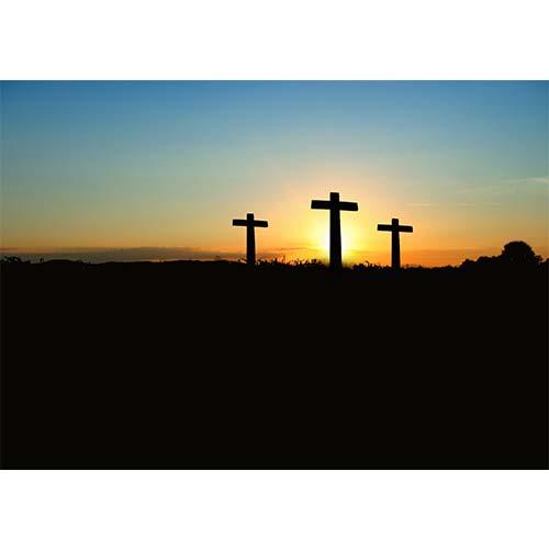 Plakatas Kalvarijos kryžiai