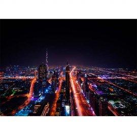 Plakatas Dubajaus miestas