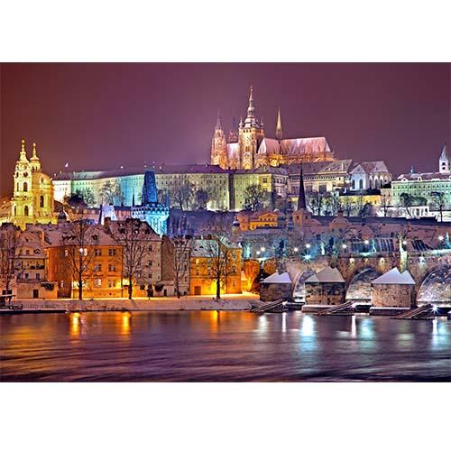 Plakatas Praha miestas, Čekija