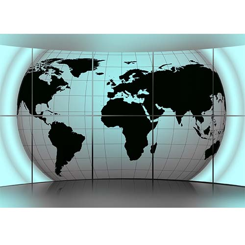 Plakatas Pasaulio žemėlapis
