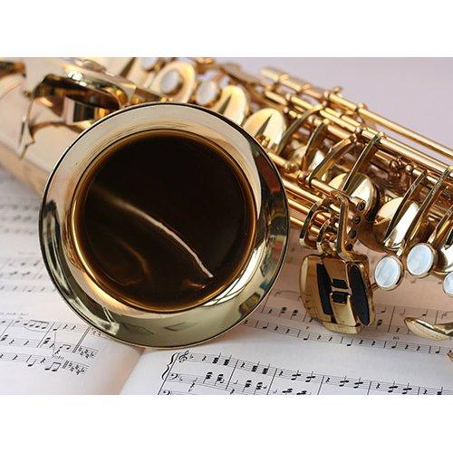 Plakatas Saksofonas
