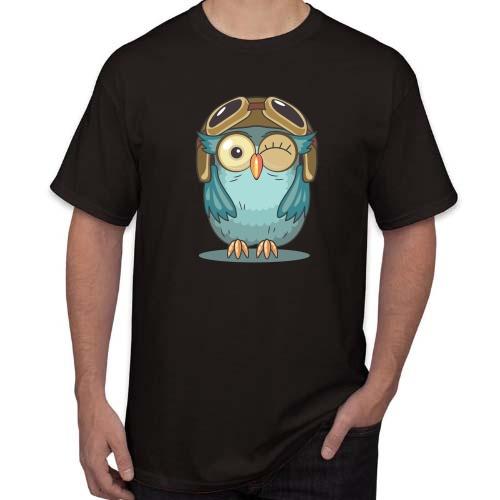 Marškinėliai Nuostabi pelėda 02