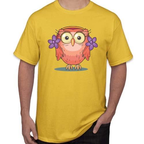 Marškinėliai Nuostabi pelėda 03