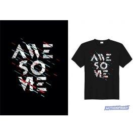 Marškinėliai Awesome