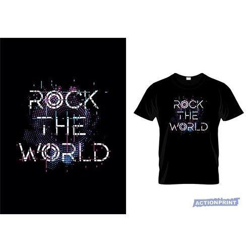 Marškinėliai Rock The World