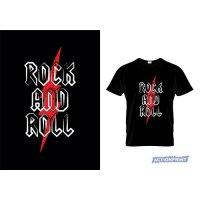 Marškinėliai Rock and Roll