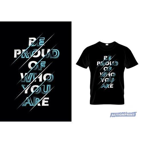 Marškinėliai Be Proud Of Who You Are