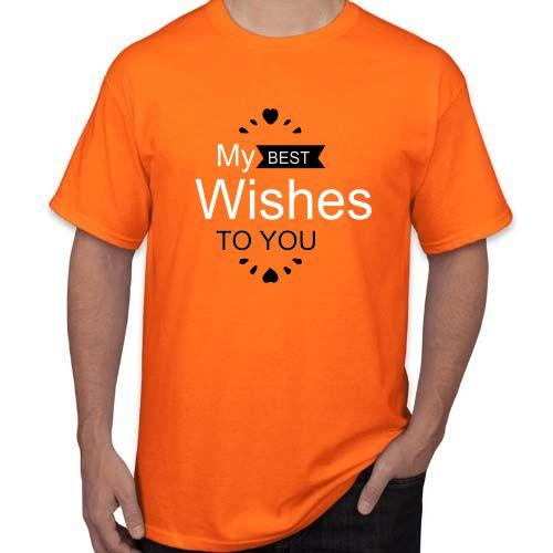Marškinėliai My best wishes to you