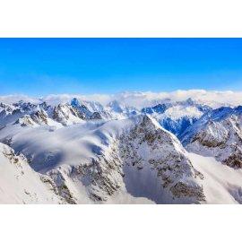Fototapetas Apsnigtos kalnų viršūnės