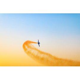 Fototapetas Lėktuvo skrydžio demonstracija