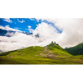 Fototapetas Ant kalno pilis