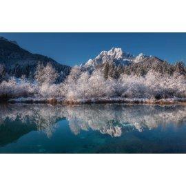 Fototapetai Kalnų ežero peizažas