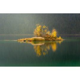 Fototapetai Salelė ežere