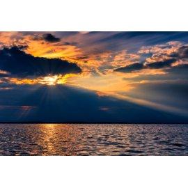 Fototapetai Jūros horizonto saulėlydis