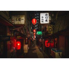 Fototapetai Honkongo skersgatvis
