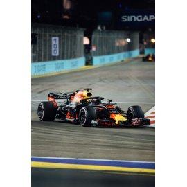 Fototapetai Uždaryta formula 1 lenktynių trasa