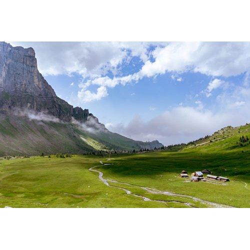Fototapetai Kalnų skardžio peizažas