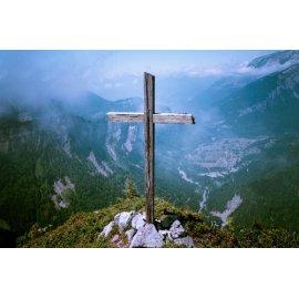 Fototapetai Kryžius ant kalno