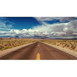 Fototapetai Dykumos gatvės horizontas
