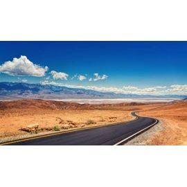 Fototapetai Dykumos gatvės peizažas