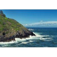 Fototapetai Uolėta jūros pakrantė 2