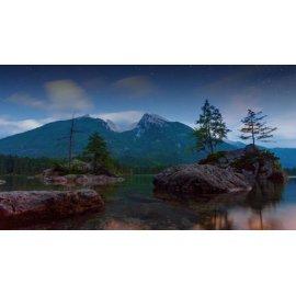 Fototapetai Kalnų ežero akmenys