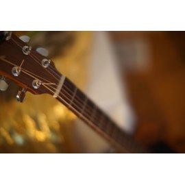 Fototapetai Akustinės gitaros kaklas