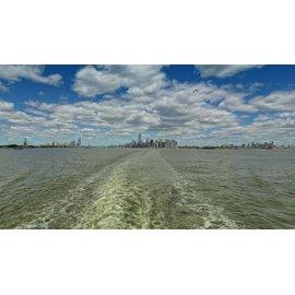 Fototapetai  Miesto panoraminis peizažas