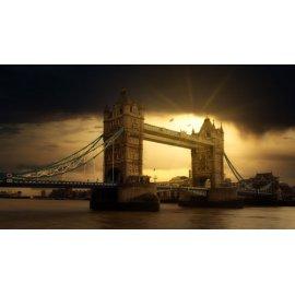 Fototapetai Tilto peizažas, Tower tiltas, Londonas, Anglija