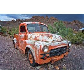 Fototapetai Apleistas automobilis gamtoje