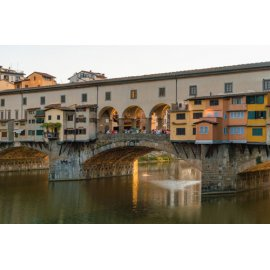 Fototapetai Namai ant tilto, The Ponte Vecchio, Florencija, Italija
