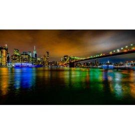 Fototapetai Tiltas vedantis į miestą, Bruklino tiltas, Jungtinės Amerikos valstijos